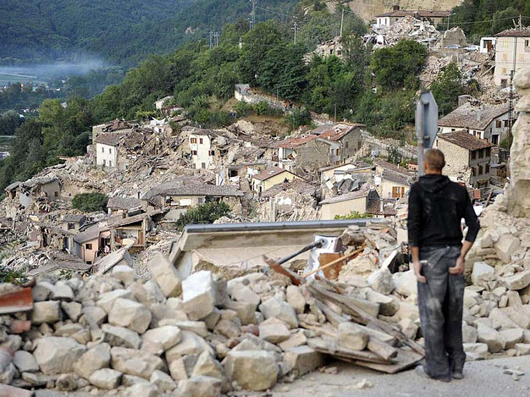 Erdbeben Italien: Caritas Nothilfe läuft an: Caritas ...
